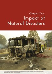 Introduction Impact of Natural Disasters - Geoscience Australia