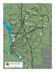 COLUMBUS, GA COMMUNITIES - Greystone Properties