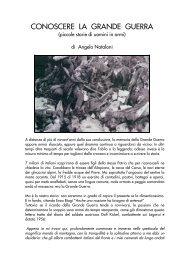Conoscere la Grande Guerra _piccole storie di uomini ... - Ars Militaris