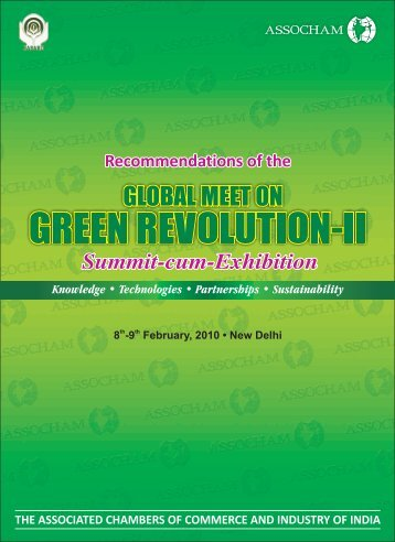 Green Revolution Recommendation - The Associated Chambers of ...