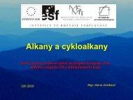 Alkany a cykloalkany