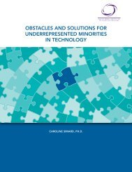 obstacles and solutions for underrepresented minorities in technology