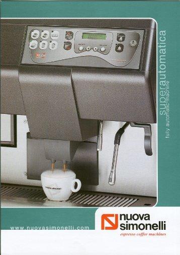 Page 1 fully automatlo machine n_uova _ slmonelll espresso coffee ...
