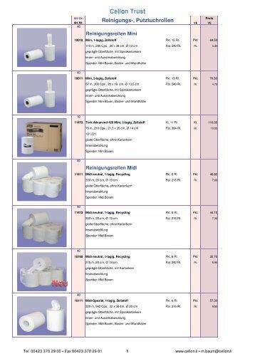 Katalog 2011 neutralx - Cellon Trust