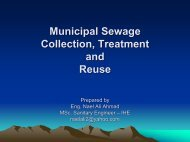 Municipal Sewage Collection, Treatment and Reuse - Hwe.org.ps