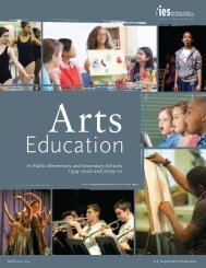 Arts Education In Public Elementary and Secondary ... - Youth Today