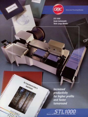 GBC_SA_STL1000 Brochure.pdf - GBC South Australia