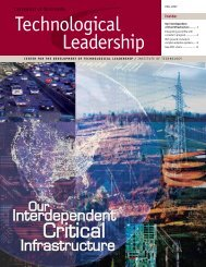 Critical - Technological Leadership Institute - University of Minnesota