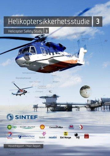 Helikoptersikkerhetsstudie 3 - Norsk olje og gass