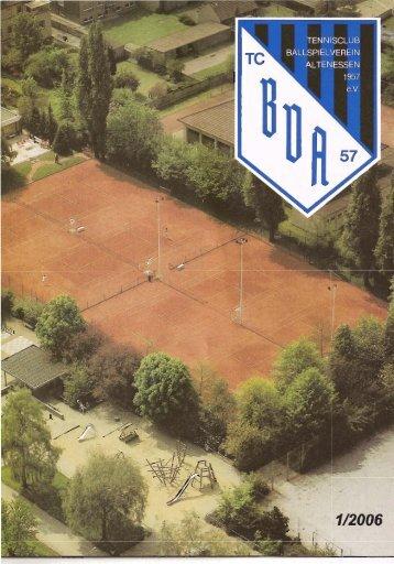 Ausgabe 01/2006 - Hompage des TC BV Altenessen 1957 eV