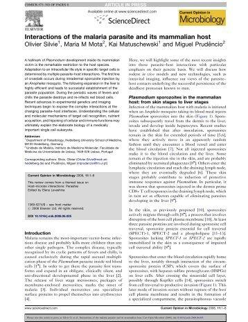 Curr. Opin. Microbiol., 11, 352-359 - miguelprudencio.com