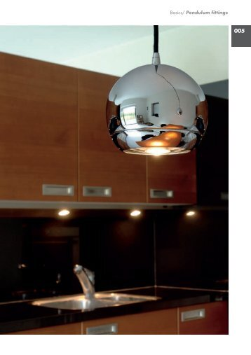Basics/ Pendulum fittings - Solavanti Lighting