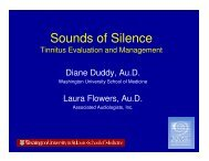 AUD9 Tinnitus.pdf - Kansas Speech-Language-Hearing Association