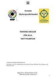 ISSF Tekniska reglemente kap. 6 2013 Version 2013-1