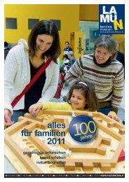 alles für familien 2011 - Landesmuseum Niederösterreich
