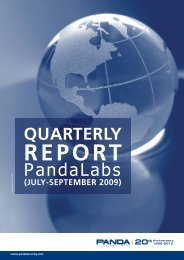 Quarterly Report Pandalabs (July-September 2009)