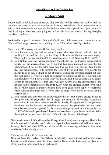persuasive speech carbon tax 20 intriguing persuasive essay topics about the  are making a great enough difference or are they merely costing tax-payers  change our carbon .