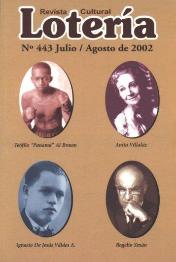 Jul. Ago. Nº 443 - Biblioteca Virtual El Dorado