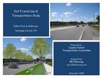 Exit 9 Land Use & Transportation Study - Capital District ...