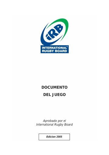 Texto completo de las Leyes del Juego -Edición 2005 - URBA
