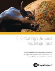 Advisor Flyer - CI Investments
