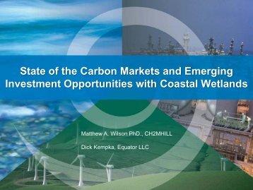 Carbon Offsets - Restore America's Estuaries
