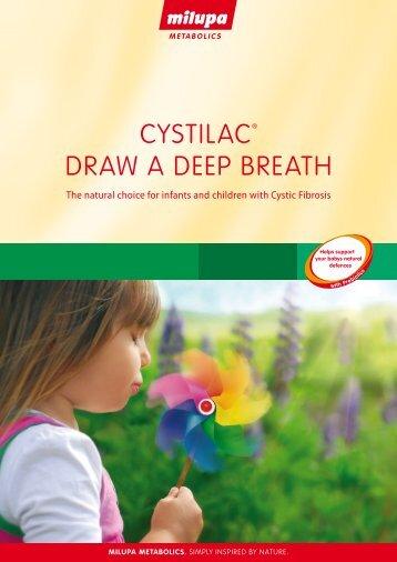 CYSTILAC® DRAW A DEEP BREATH - Milupa Metabolics