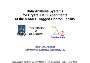 New development of the AcquRoot for data and MC - A2 Mainz