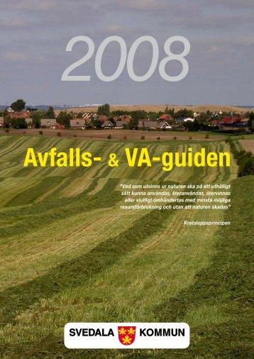 Avfalls- & VA-guiden 2008 - Svedala kommun