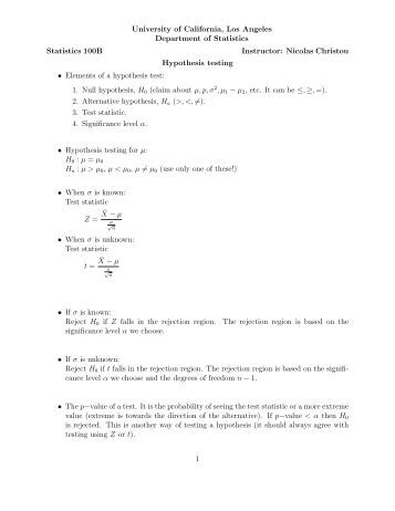 elementary statistics course notes This section provides course notes corresponding to chapters from the course textbook lecture notes statistics and data analysis: from elementary to.