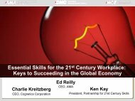 Essential Skills for the 21st Century Workplace - Network of ...
