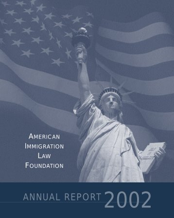 ANNUAL REPORT - American Immigration Council
