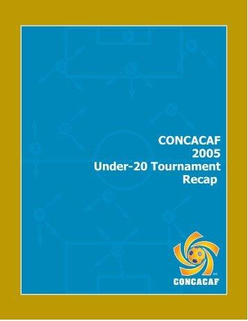 U-20 Championship 2005 - CONCACAF.com
