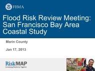 Marin Flood Risk Review Meeting Presentation - FEMA Region 9