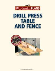 DRILL PRESS TABLE AND FENCE - gerald@eberhardt.bz