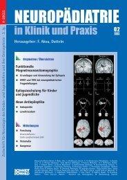 #4168_Neurop.diatrie 02/03 - Neuropädiatrie in Klinik und Praxis