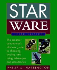 Star Ware: The Amateur Astronomer's Guide to Choosing ... - EklaBlog