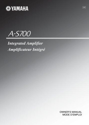 Integrated Amplifier Amplificateur Intégré - EXCELIA HIFI