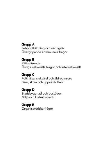 Innehållsförteckning motioner 2012.pmd - Socialdemokraterna