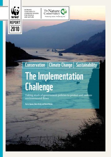 The Implementation Challenge - WWF