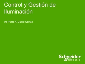 Control y Gestión de Iluminación - Schneider Electric