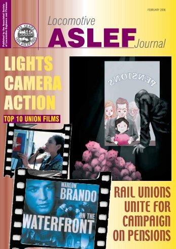 LIGHTS CAMERA ACTION - Aslef