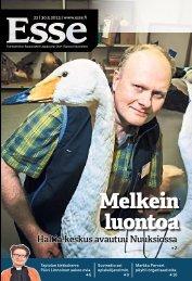 Esse 22/2013 (pdf) - Espoon seurakuntasanomat