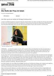 2013_10_26 Die Rolle der Frau im Islam