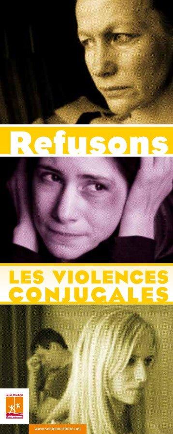 Refusons les violences conjugales - Département de Seine-Maritime