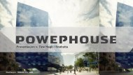 Powerhouse - Statsbygg