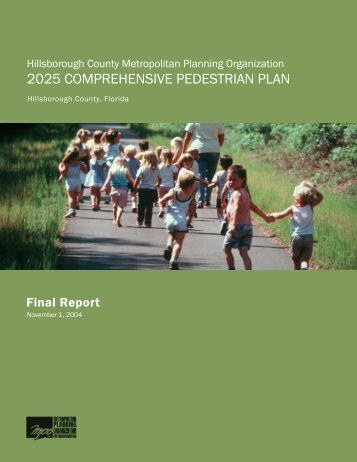2025 comprehensive pedestrian plan - Hillsborough MPO 2035 Vision