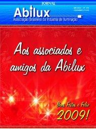 ANO XIII - Nº 170 DEZEMBRO/2008 - Abilux