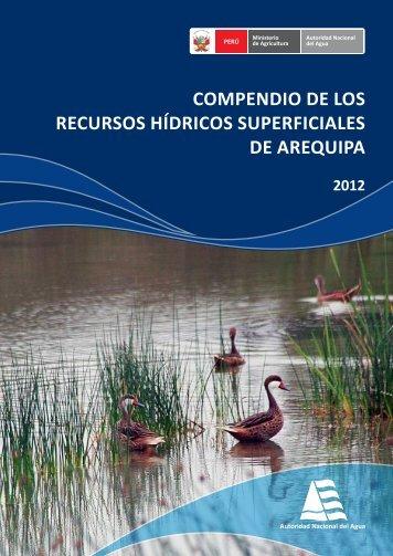 Caratula Compendio Costa - Autoridad Nacional del Agua