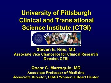 Clinical and Translational Science Institute (CTSI) Overview